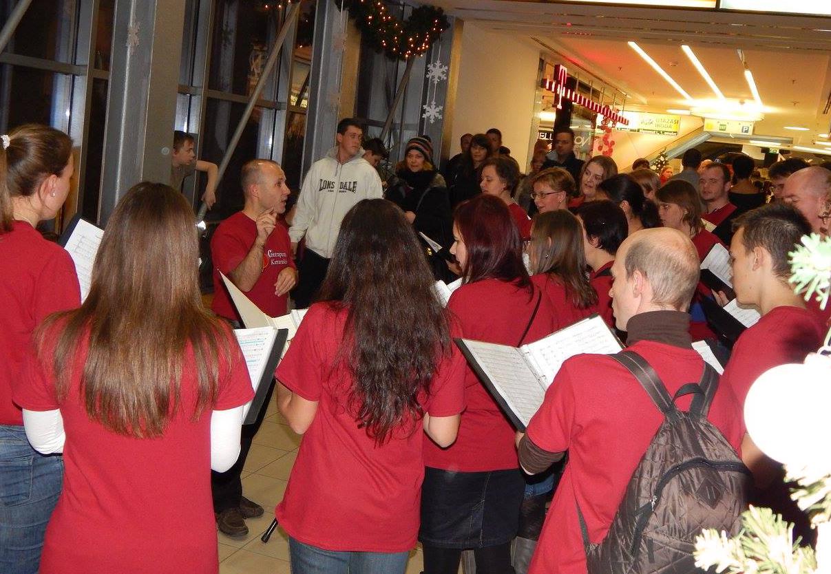 Jótékonysági fellépés - Mammut Bevásárlóközpont